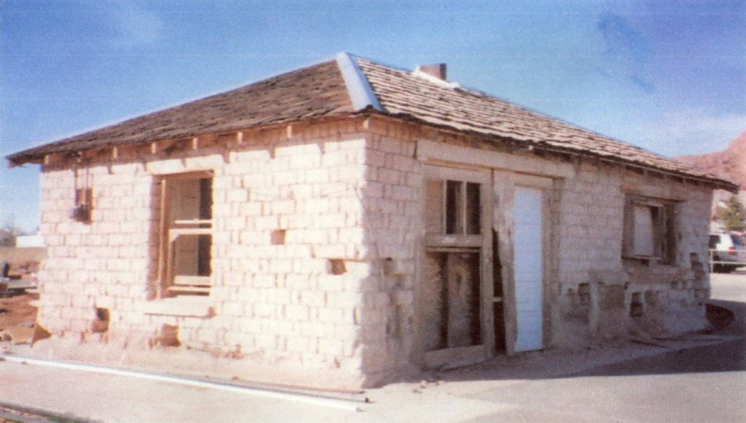 Adobe Post Office in Ivins