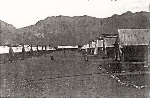 Civilian Conservation Corps Camp in Pine Valley, Utah