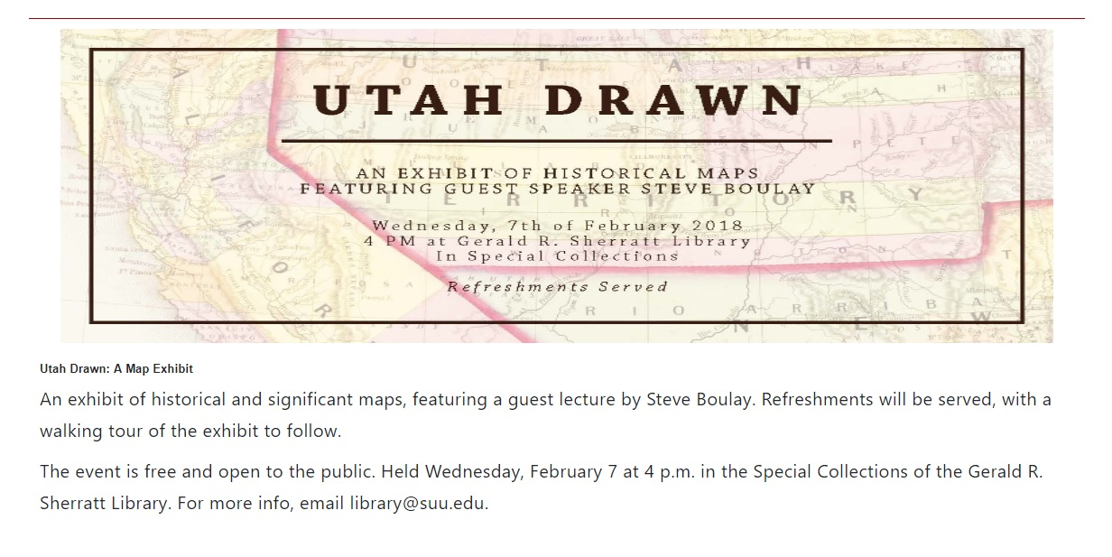 Washington County Historical Flyers and Other Dated Materials on