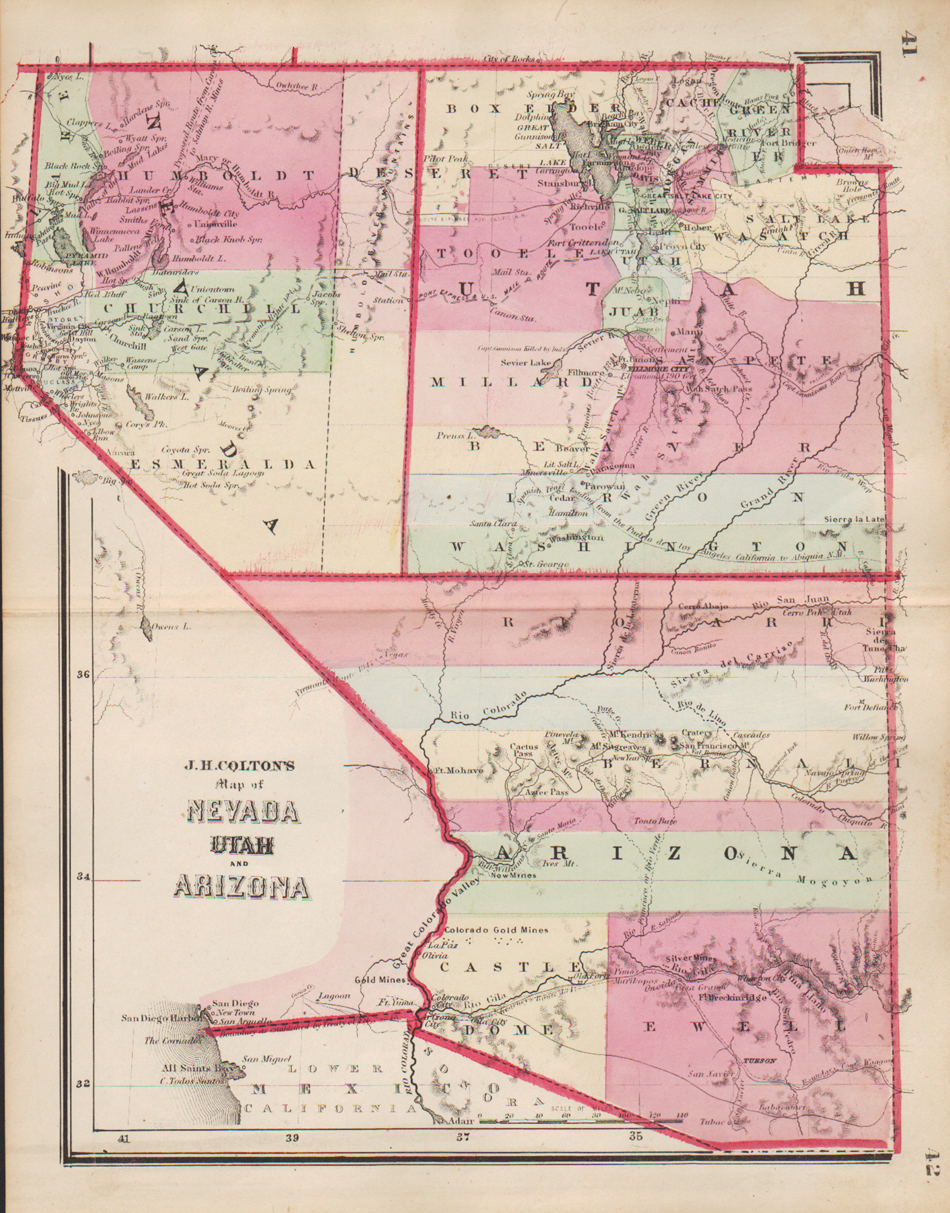 Map Of Arizona Utah Border.Washington County Maps And Charts