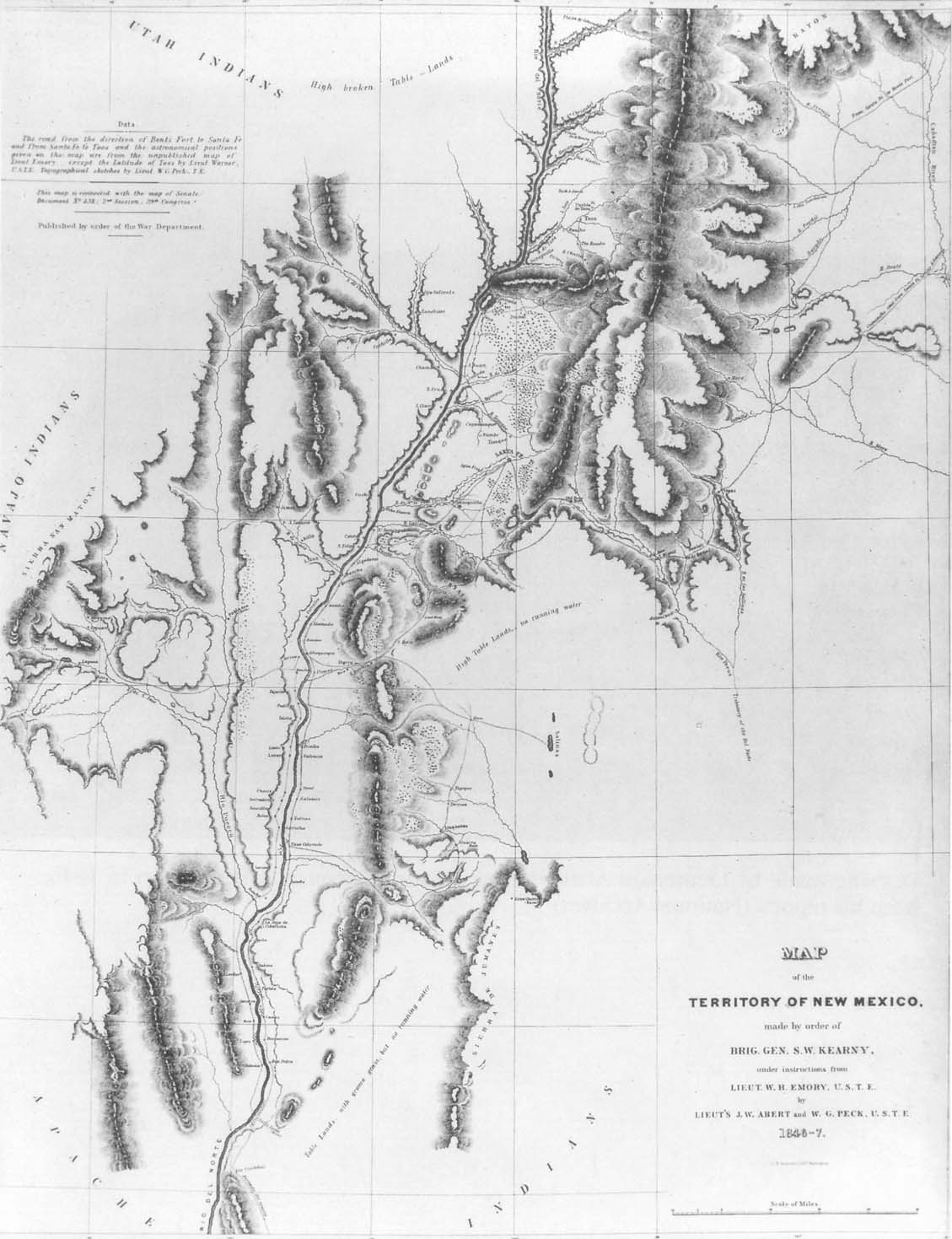 Washington County Maps And Charts 1845 Us Map