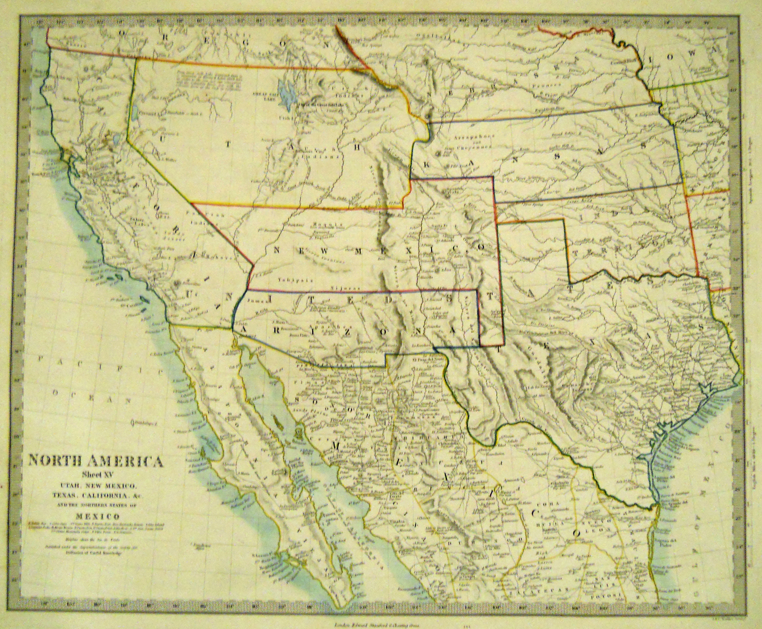 Washington County Maps And Charts - Us in the 1860s map