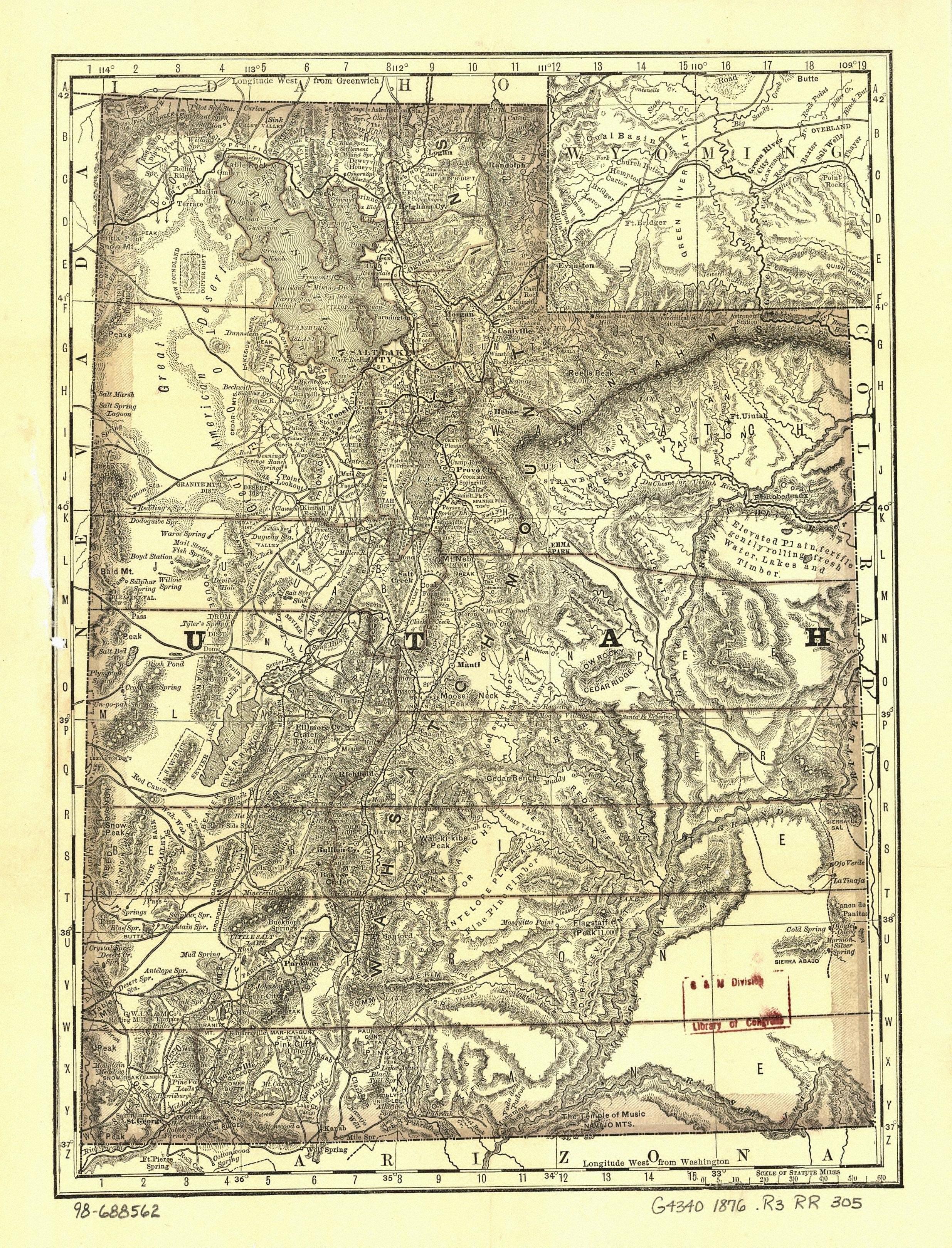 Washington County Maps And Charts - 1889 us railroad map