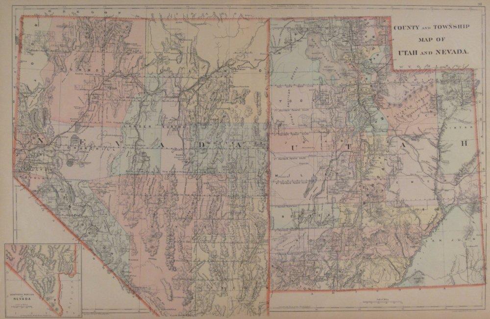 Map Of Arizona 1880.Washington County Maps And Charts