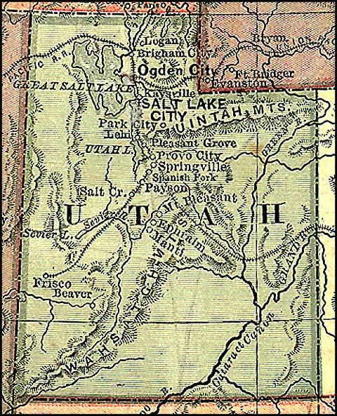 1875 map of utah