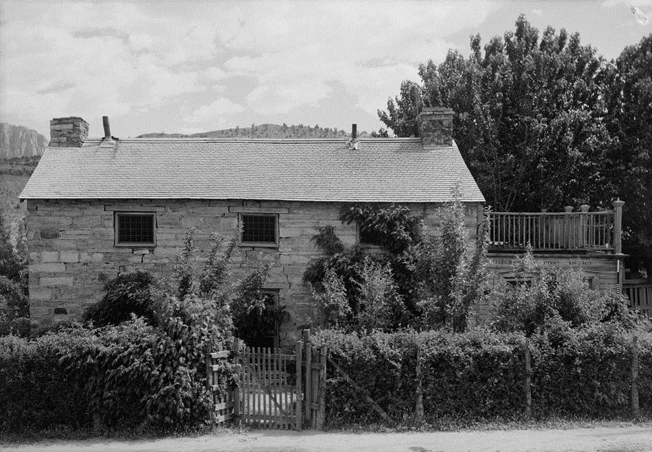 Deseret Telegraph And Post Office In Rockville Utah