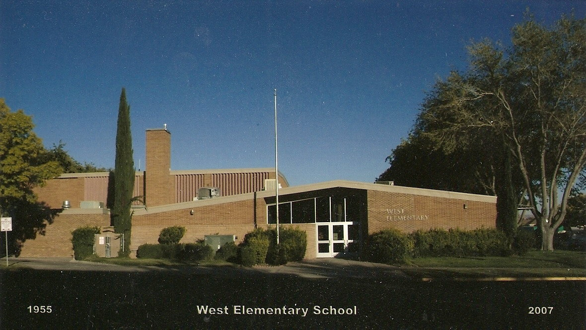 Front of West Elementary School