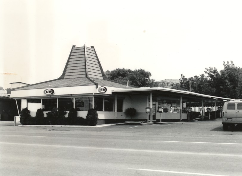 A&W Root Beer Drive-in