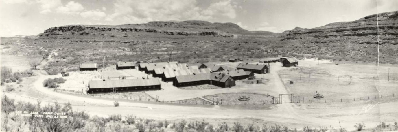 St. George CCC Camp in 1938
