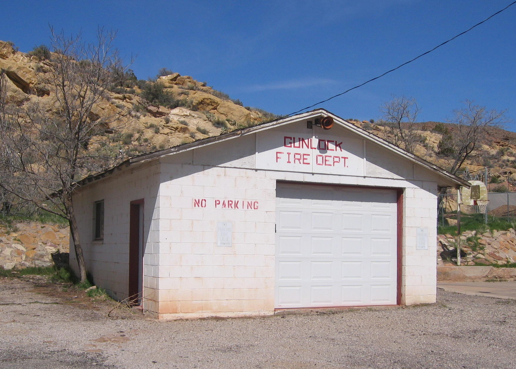 WCHS-00630 Gunlock Fire Station