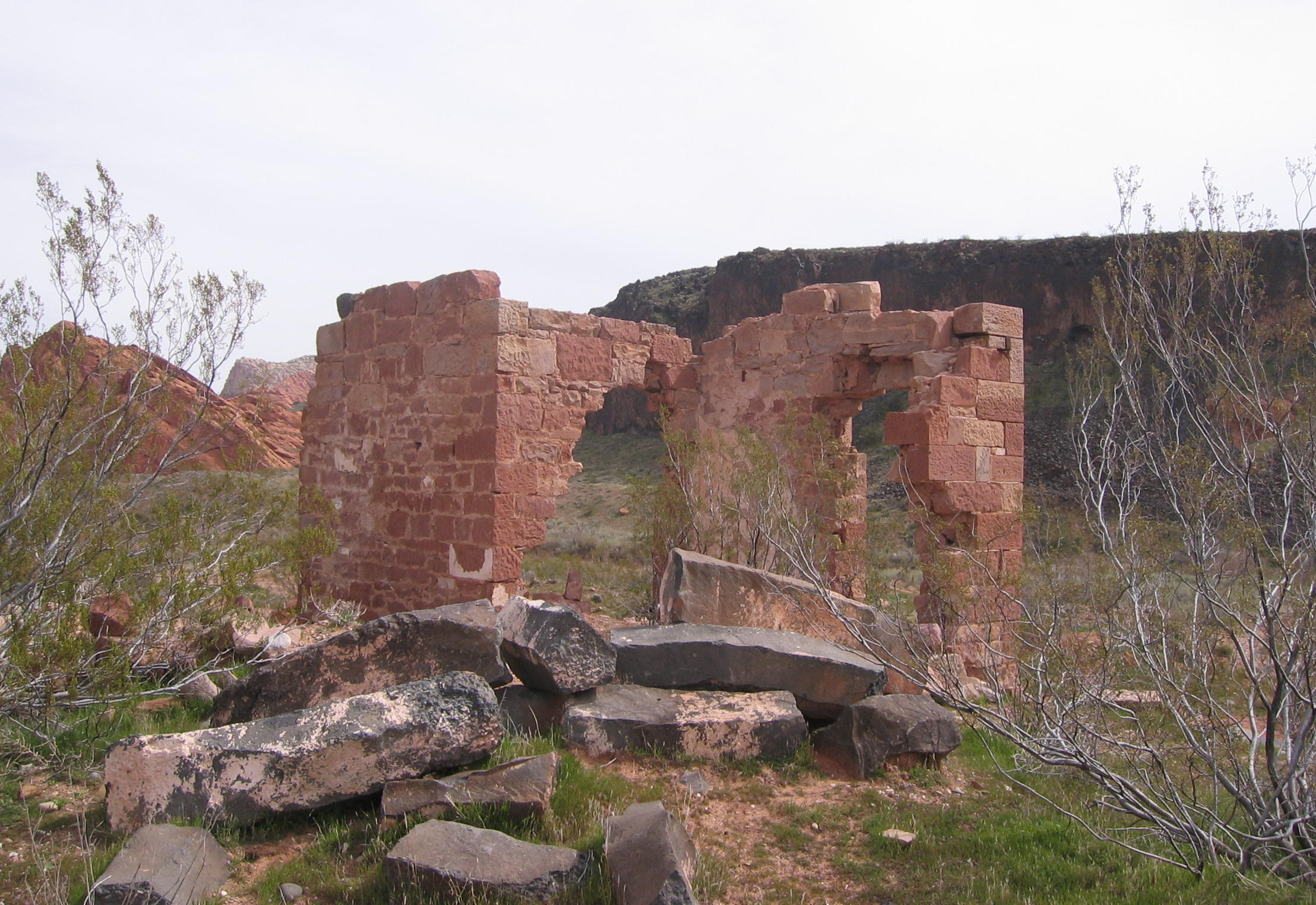 Ruins of the old Stormont Mill