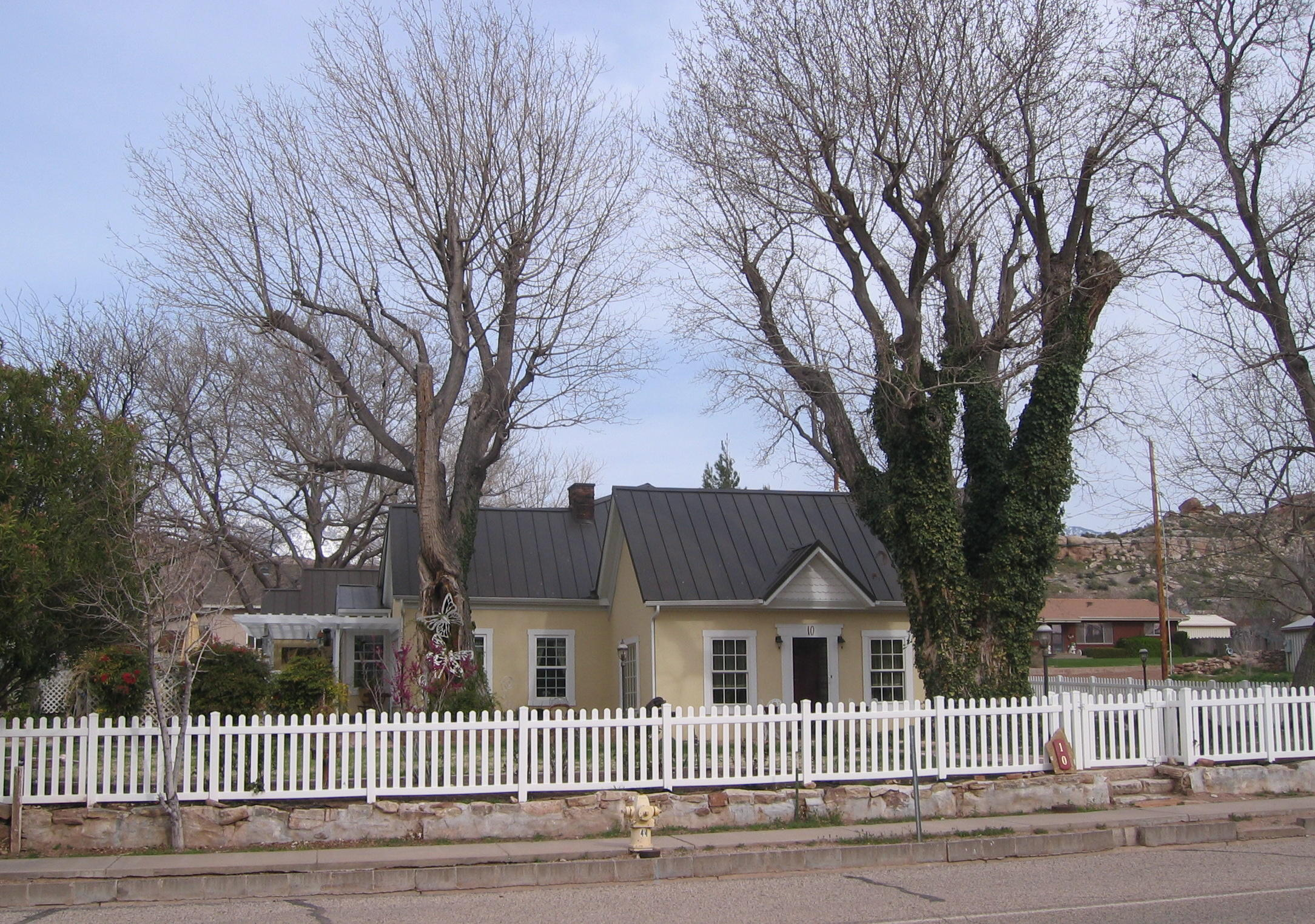 Brigham Young McMullin home