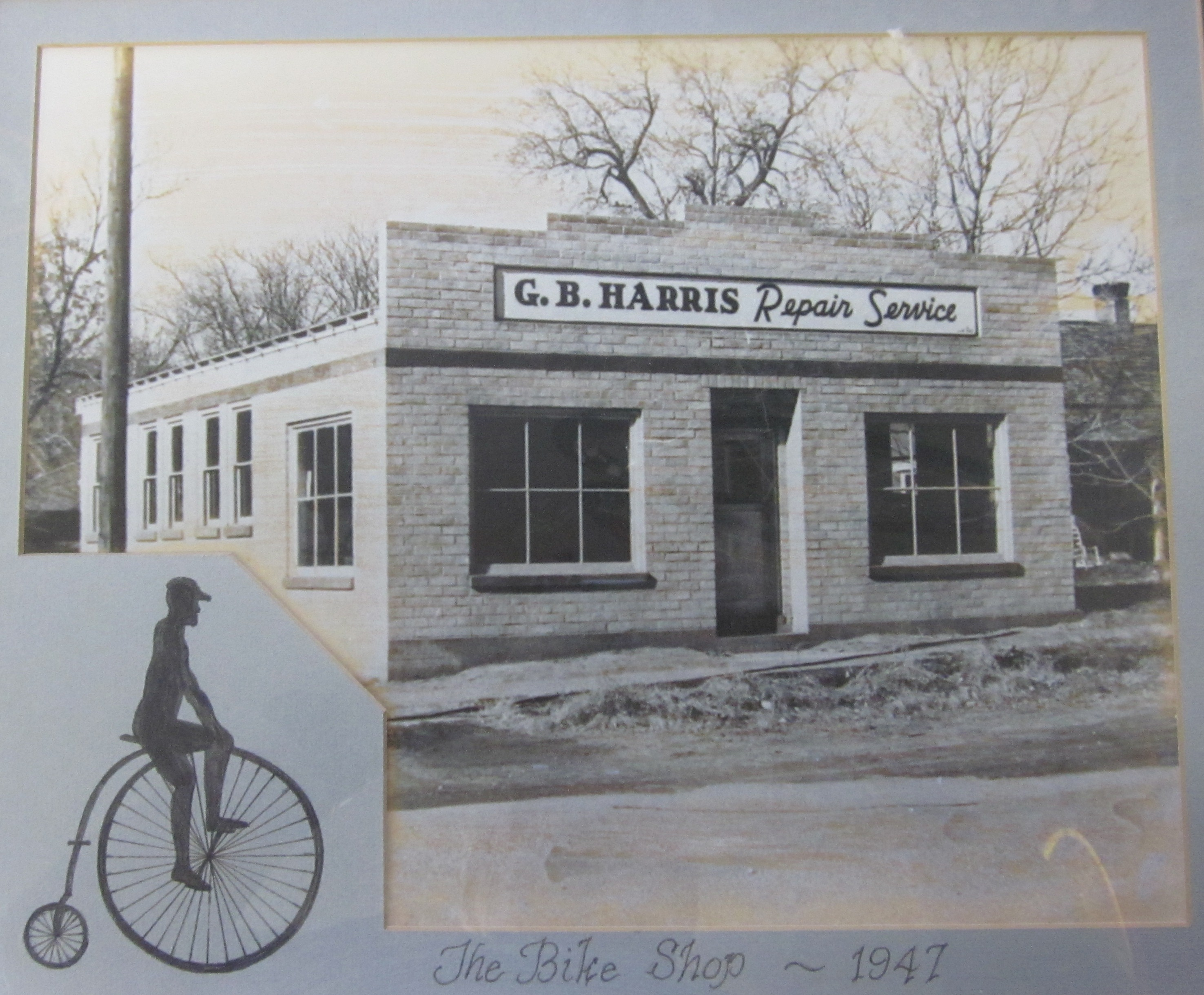 G. B. Harris Repair Service building