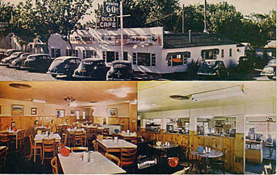 Dick's Cafe in the 1930s