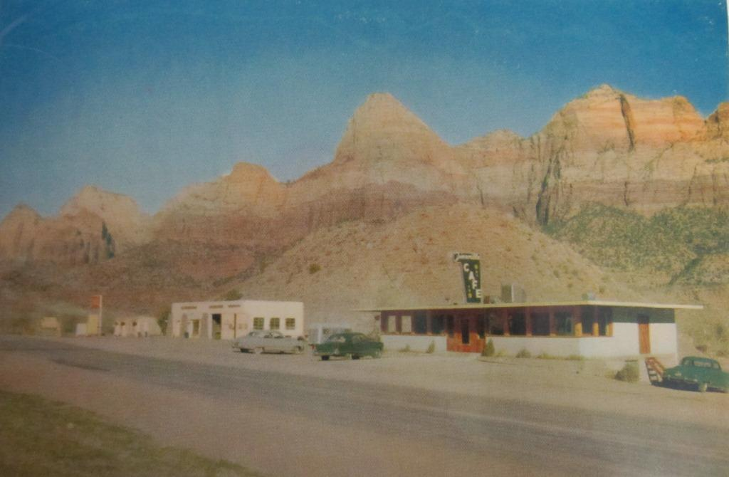 Photo of old Canyon Market and Zionville Cafe