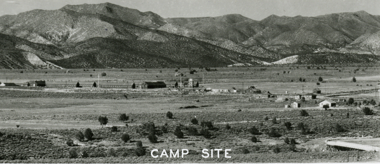 WCHS-01047 The Veyo CCC Camp in 1939