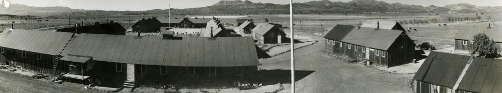 WCHS-01048 Buildings of the Veyo CCC Camp in 1939