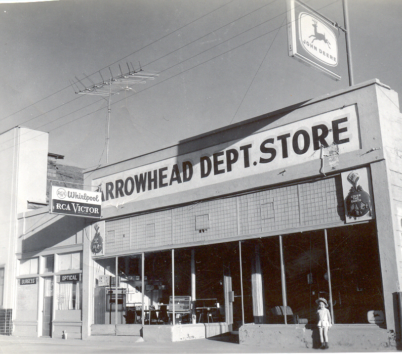 Front of the Arrowhead Department Store