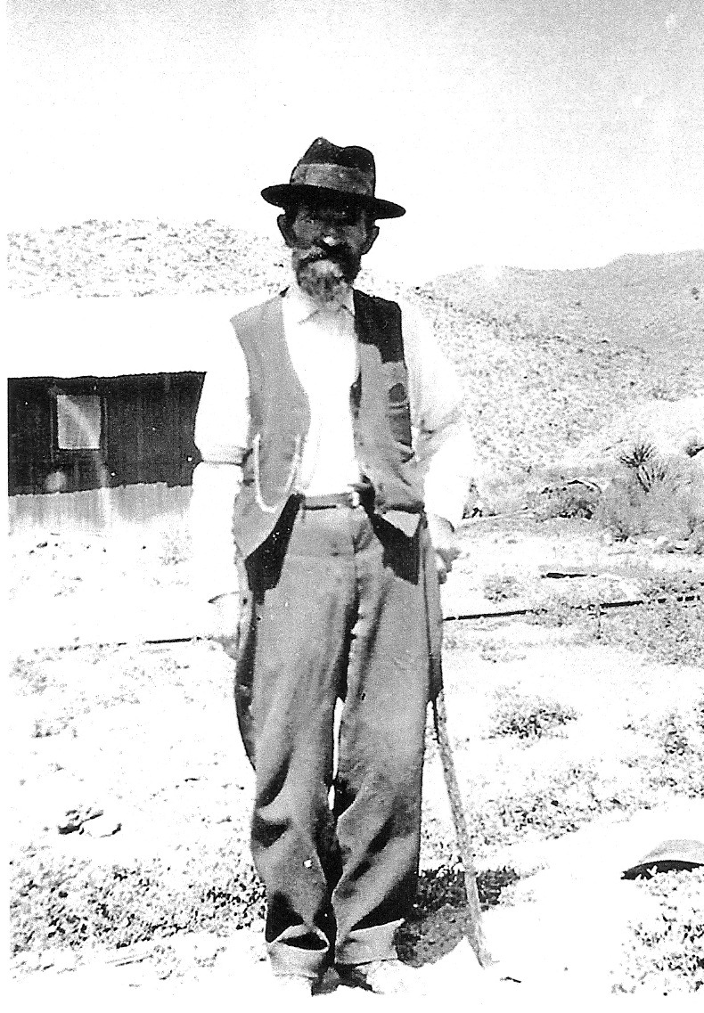 WCHS-01207 John Kemple in Goodsprings NV about 1915