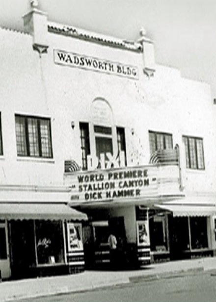 Wadsworth Building and Dixie Theatre