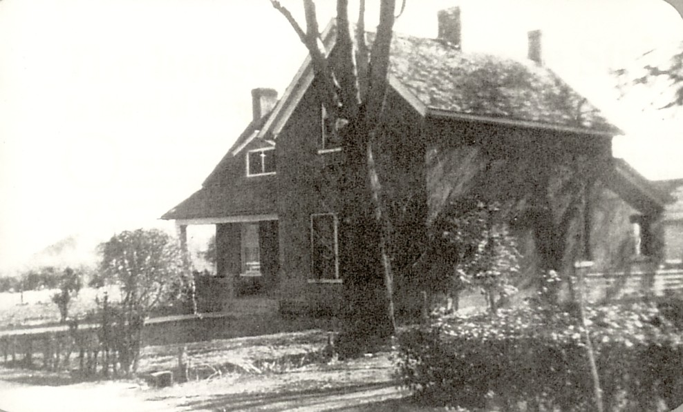 Older photo of the Arthur K. & Orilla W. Hafen home