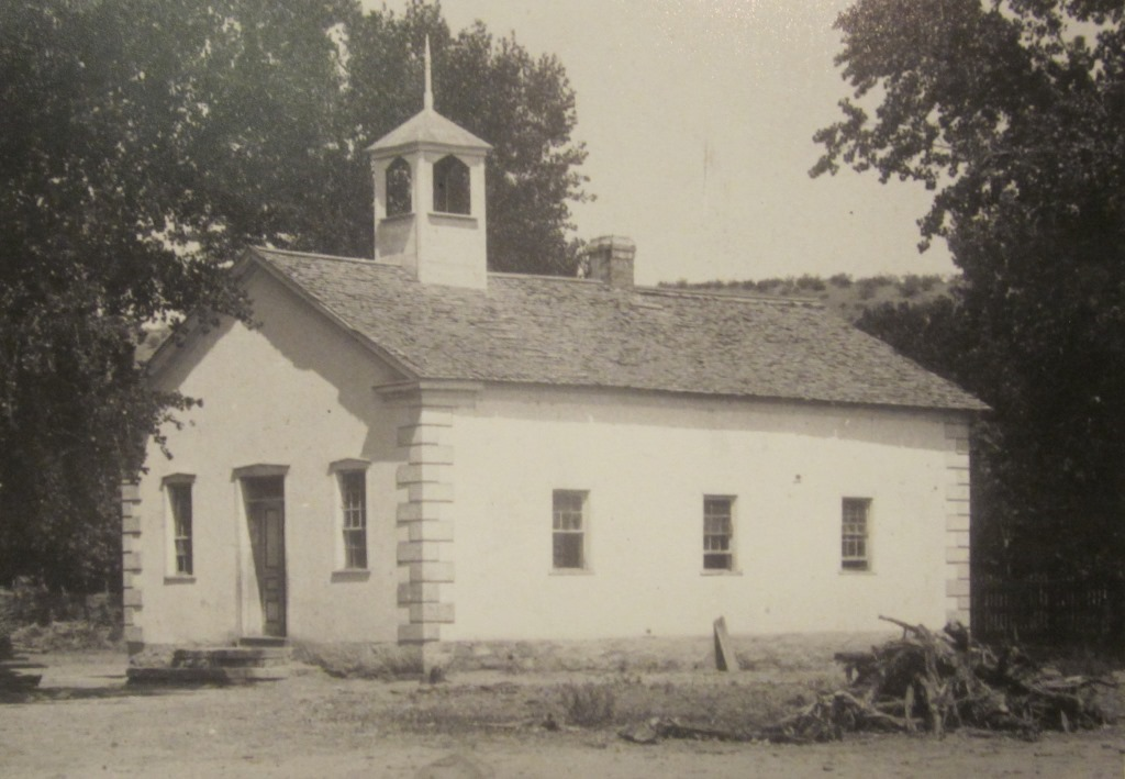 The first church building in Santa Clara