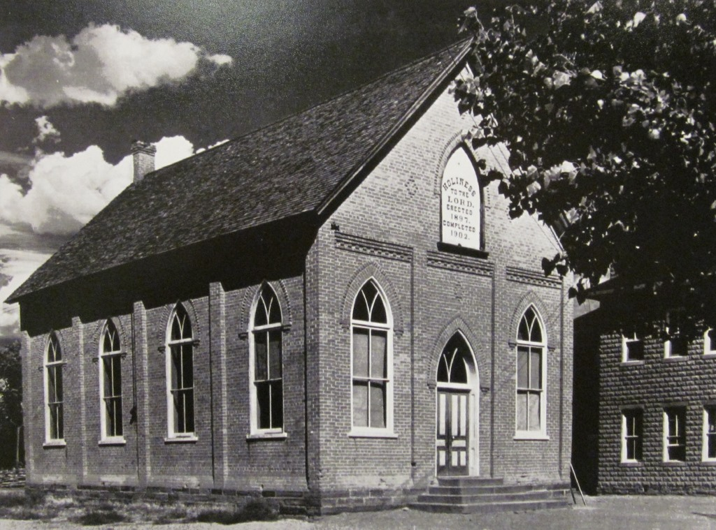 The second church building in Santa Clara
