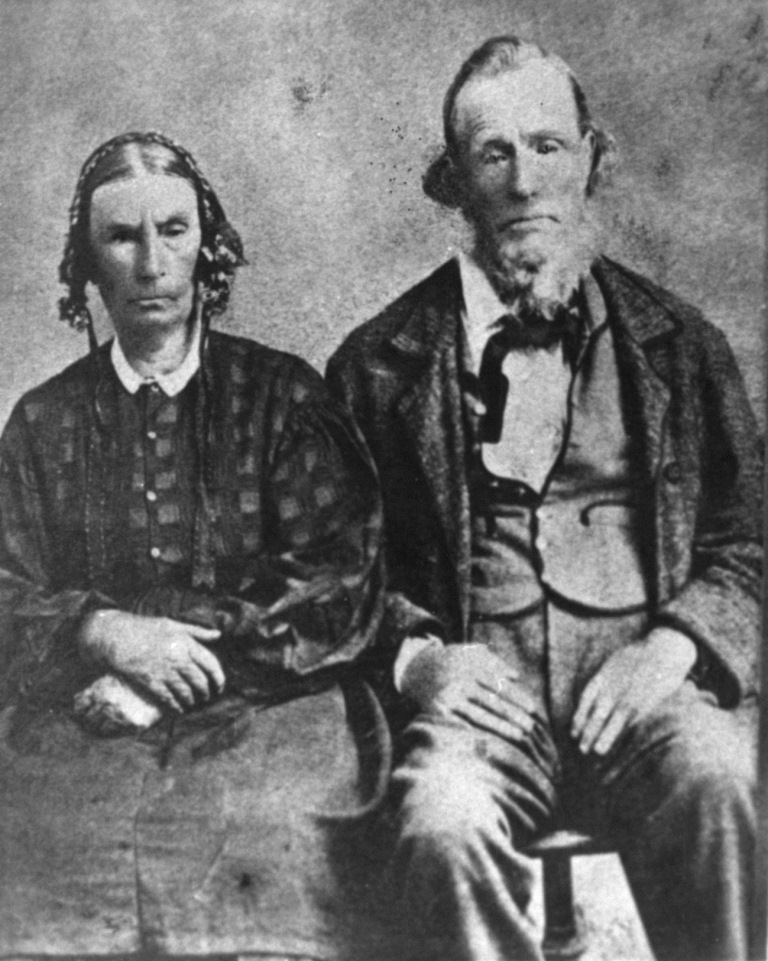 Dr. Priddy Meeks and his wife Sarah