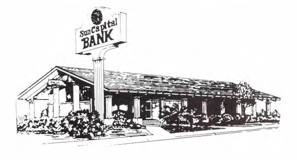 Drawing of the Sun Capital Bank