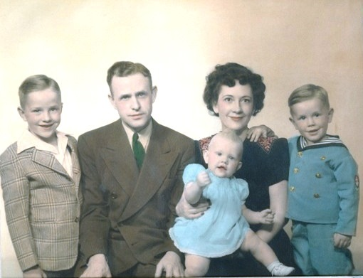 Orval & Ruth Hafen Family