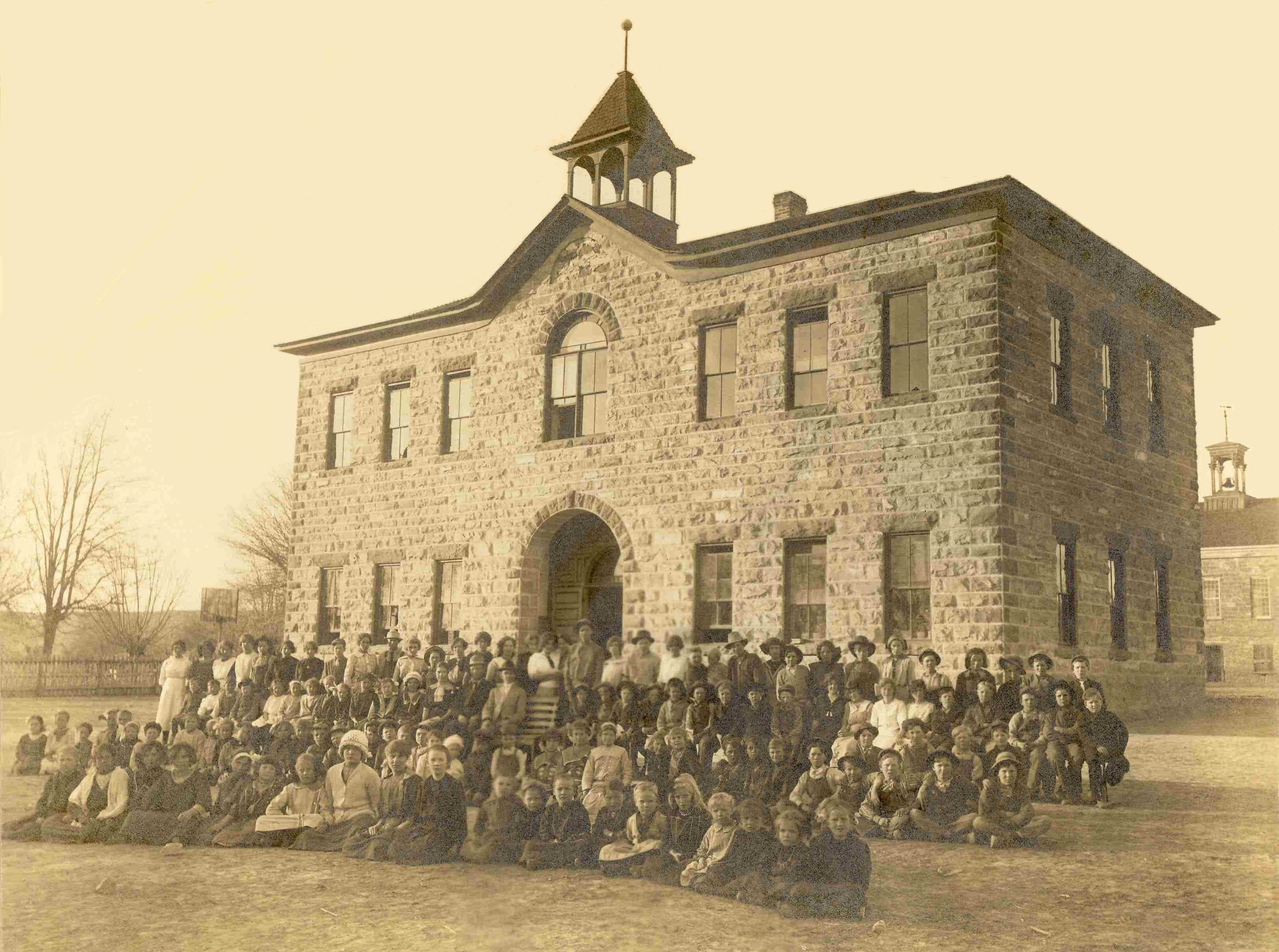 Washington School in 1914