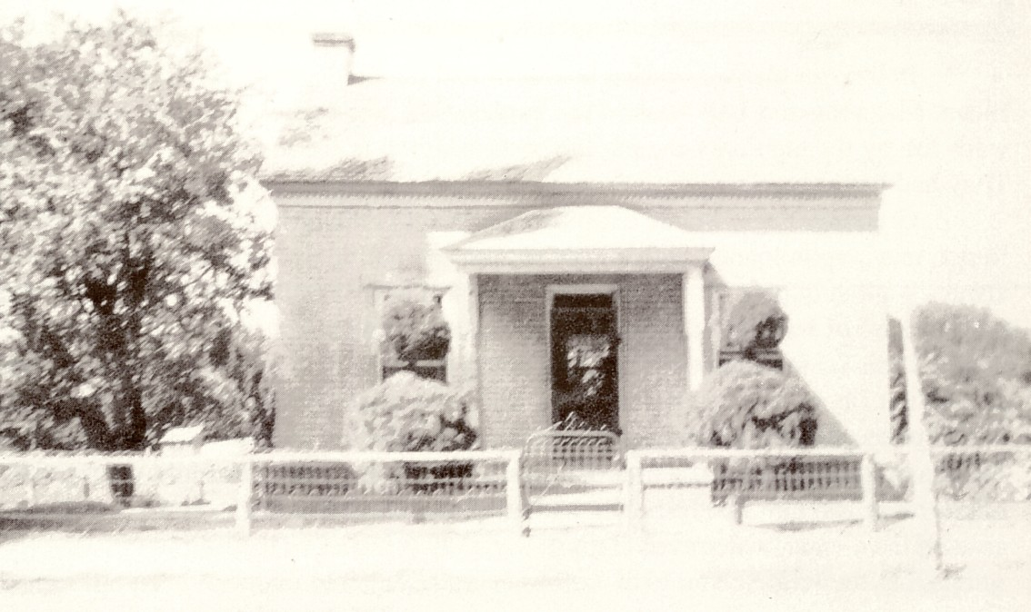 The Edwin & Eva Higbee home in Toquerville