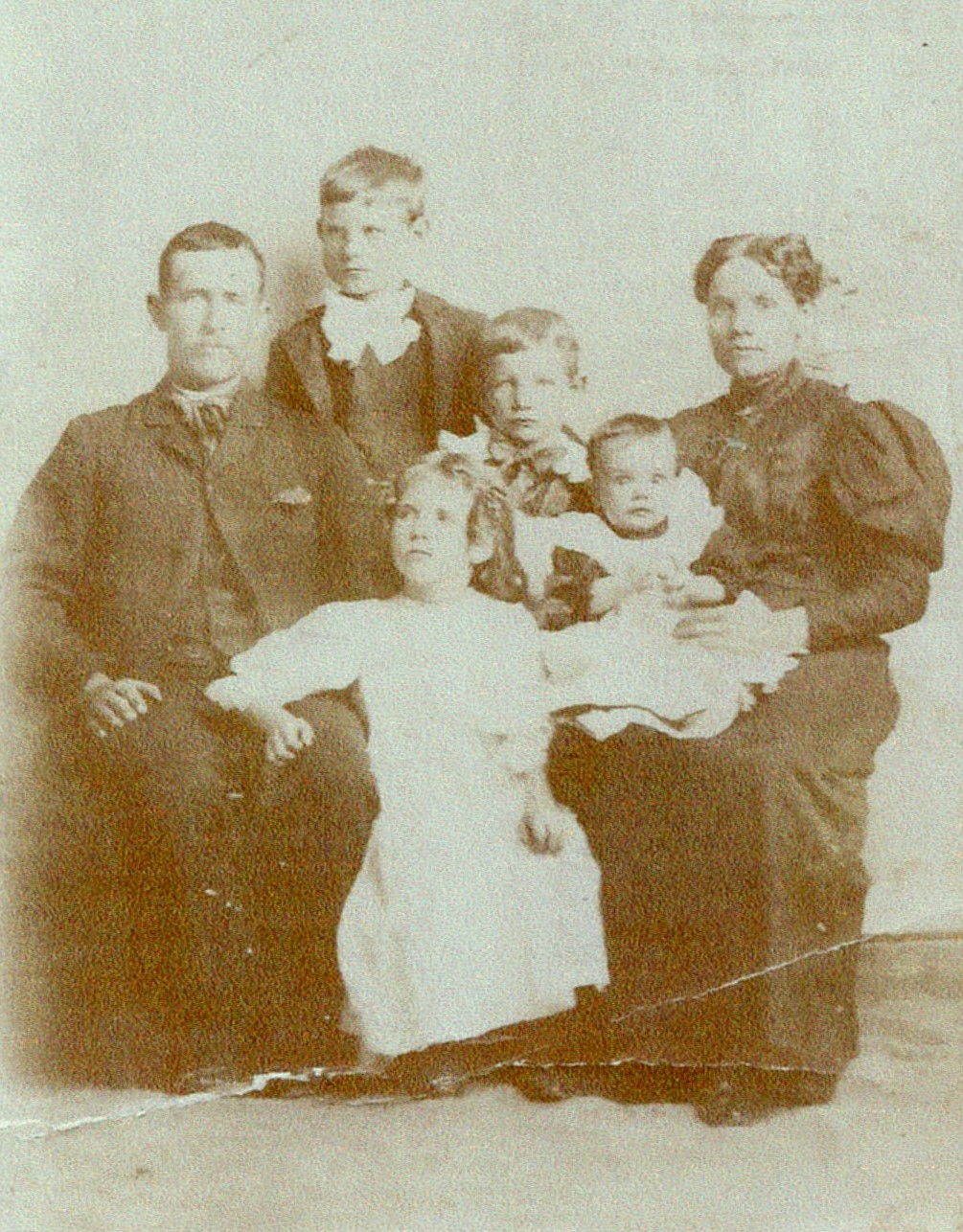 James & Sarah Elizabeth Prince family