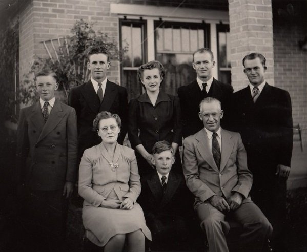 The Wilford & Martha Schmutz family
