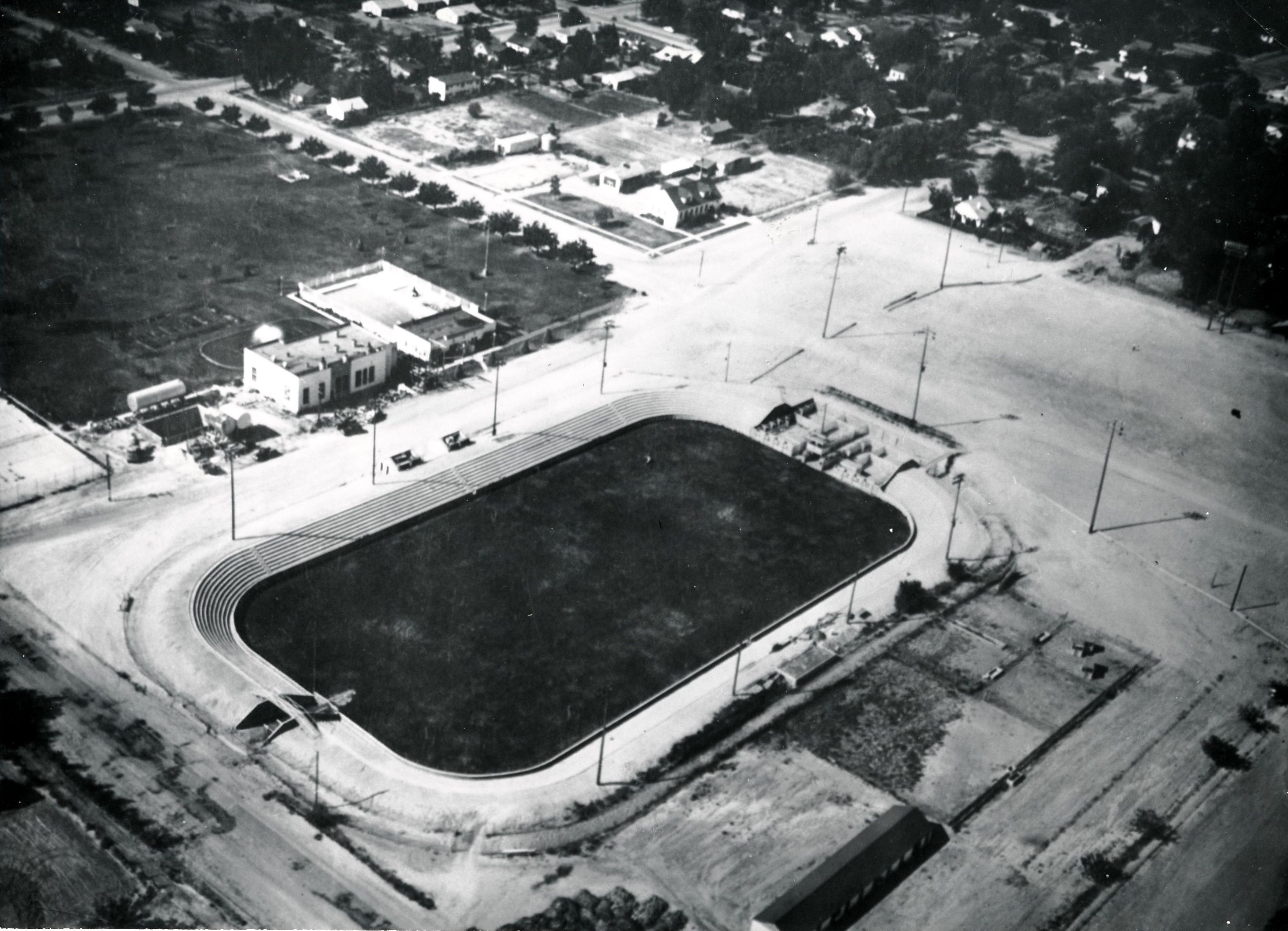 Aerial view of the Dixie Sun Bowl