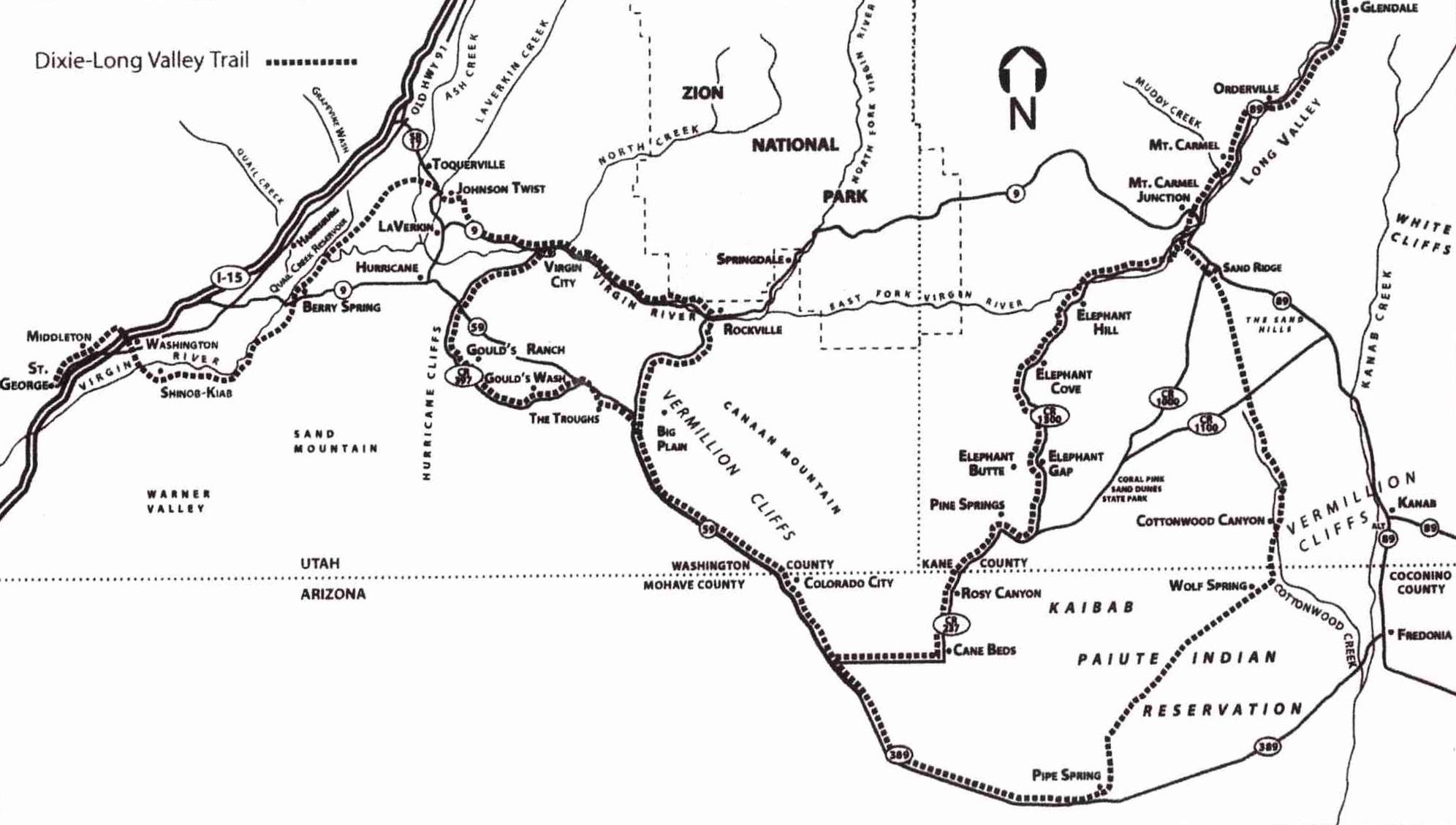 Road Map Of Southern Arizona.Washington County Maps And Charts