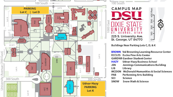 Dixie State University Campus Map Dixie State Campus Map – Bestinthesw