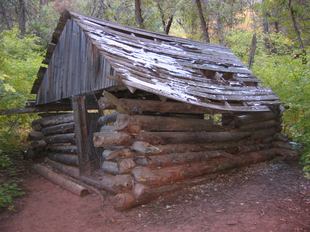 Arthur fife cabin in zion national park for Cabin zion national park